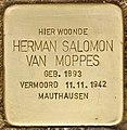 Stolperstein für Herman Salomon van Moppes (Den Haag).jpg