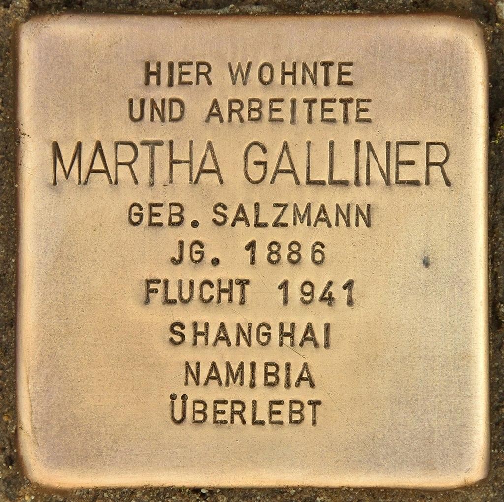 Stolperstein für Martha Galliner (Finsterwalde).jpg