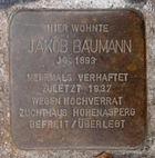 Stolperstein in Mannheim, Mönchwörthstr.jpg