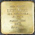 Stolpersteine Familie Moses Lucie-Moses Elisenstraße 3 Köln.jpg