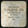Stumbling block for Florentine Löb (Bergisch Gladbacher Straße 1203)