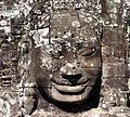Stone face in Bayon, Angkor (2).JPG