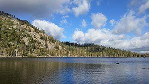 Meeks Creek - Stony Ridge Lake, fed by Meeks Creek.
