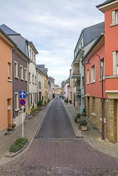 Rue des Bateliers zu Gréiwemaacher
