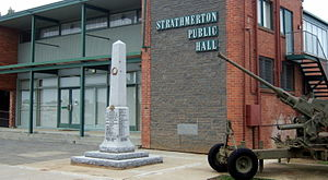 Strathmerton - Image: Strathmerton Public Hall Stevage