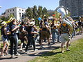 Straw Hat Band at Memorial Glade during Cal Day 2009 1.JPG