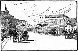 Jodhpur - Street Scene of Jodhpur in 1906