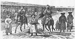 Cena de rua em Yarkand em 1870s.jpg