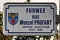 Stroosseschëld Furwee, rue Wenzel-Profant zu Bech-Maacher-101.jpg