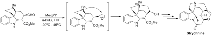 Strychnine synthesis CCR step