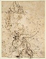 Studies for a Figure Lifted from a Grave or Pit by Cords. V e r s o- Further Study of the Same Figure MET DP811507.jpg