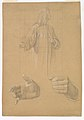 Study of a Standing Man with Headcloth and Two Studies of his Hands MET DP824679.jpg