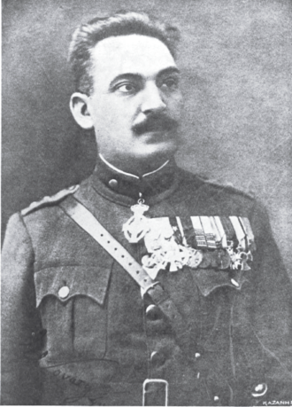 Stylianos Gonatas - Stylianos Gonatas as a Colonel in 1922