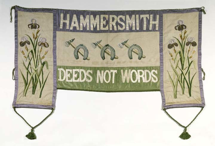 Suffragette Banner - Museum of London