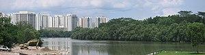 Sengkang - Image: Sungei Serangoon, panorama, Nov 06