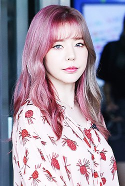 Sunny Lee going to a Happy Together recording in July 2017.jpg