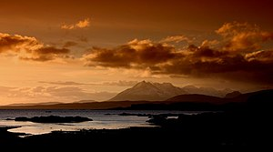 Mallaig - Sunset over the Sound of Sleat