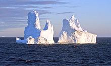 Un iceberg in Groenlandia