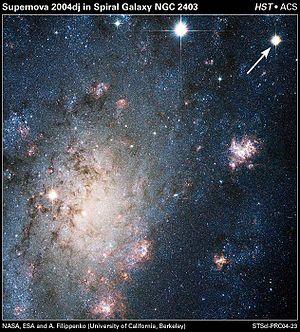 SN 2004dj - Image: Supernova 2004dj