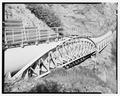Support trusses with new metal pipe, looking east - Ogden Canyon Conduit, Ogden, Weber County, UT HAER UTAH,29-OGCA,2-8.tif