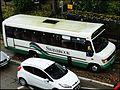 Swanbrook Coaches' Mercedes-Benz minibus in Stroud, Gloucestershire.jpg
