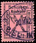 Switzerland Biel Bienne 1919 revenue 50c - 26.jpg