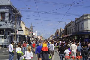 Sydney road street party in Feb 2004, Sydney R...
