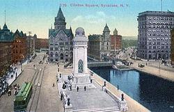 East Syracuse Ny >> Clinton Square - Wikipedia