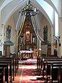 Szczytna. Zamek wnętrze kaplicy 1831-1937..JPG