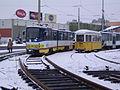 Szeged 1-es villamos építése Rókusi pályaudvar 2010-02-22 (2).JPG