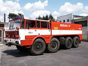 Tatra T813 hasičská nástavba