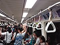 TW 台北市 Taipei 大安區 Da'an District 台北捷運 MRT Station interior August 2019 SSG 29 Metro 大安站 Daan Station.jpg