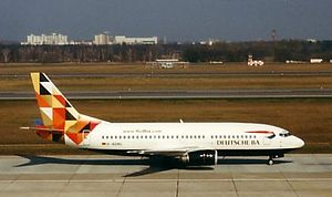 DBA (airline) - Deutsche BA Boeing 737-300