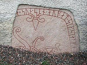 Italy runestones - Runestone U 133, first fragment