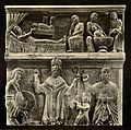 Tafel 024b Spalato - Dom, mittelalterliche Basreliefs am Campanile - Heliografie Kowalczyk 1909.jpg