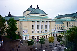 Estonia Theatre theatre building in Tallinn, Estonia, home to the Estonian National Opera