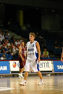 Estonian basketball player