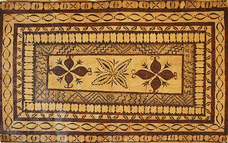 Culture of Tonga - Tongan tapa