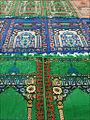 Tapis de prière de la Mosquée de la communauté cham (Chau Doc, Vietnam) (6620623239).jpg