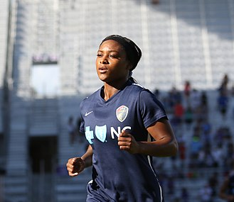 Taylor Smith (soccer) - Taylor Smith with the North Carolina Courage in 2017