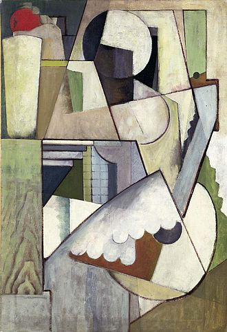 Henry Fitch Taylor - Figure with Guitar II, 1914, Smithsonian American Art Museum
