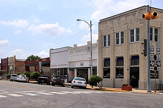 Teague, Texas - Downtown Teague