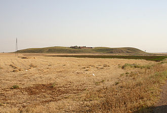 Urkesh - View of Tell Mozan from the north.