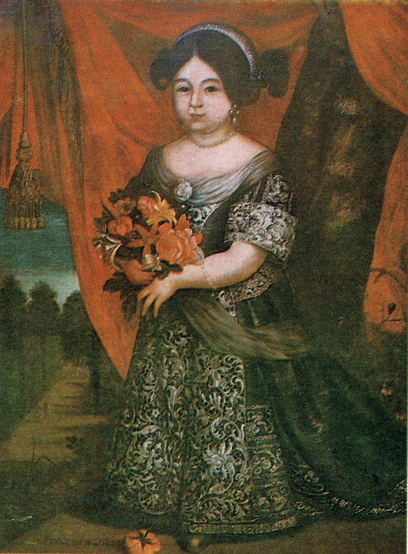portret małej Teresy Kunegundy Sobieskie, Zamek w Olesku