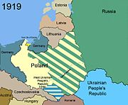 Territorial changes of Poland 1919