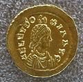 Tesoretto di sovana 101 solido di eudoxia (450), zecca di costantinopoli.JPG
