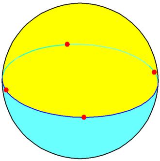 Square - Image: Tetragonal dihedron