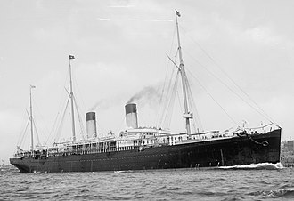 White Star Line - Teutonic of 1889, (9,984 GRT)