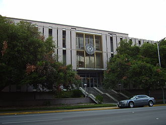 Texas Film Commission - State Insurance Building, the headquarters of the commission