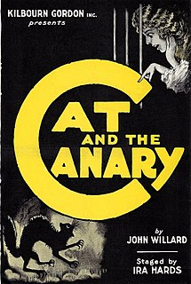 <i>The Cat and the Canary</i> (play) play written by John Willard